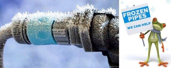 Способы защиты водопроводных труб от промерзания