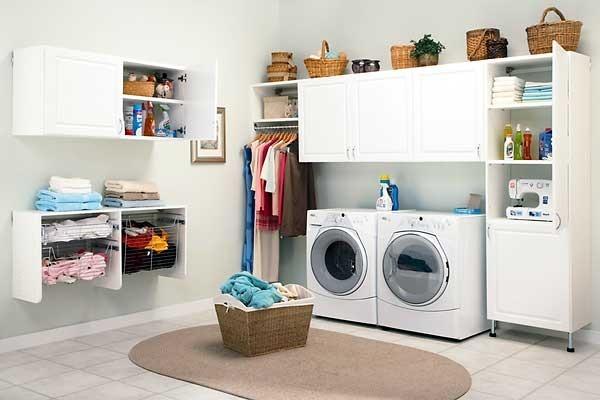 Что необходимо учесть при организации домашней прачечной?