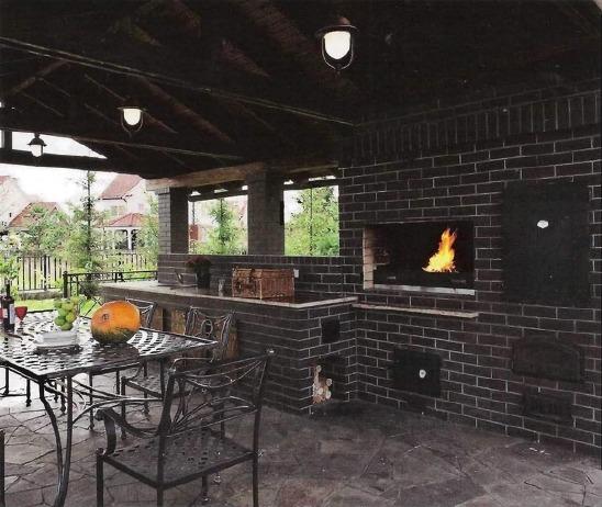 Идеи оформления зоны отдыха и открытой летней кухни