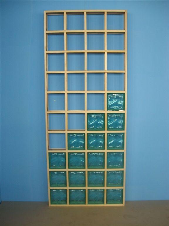 Модульная решетка для стеклоблоков