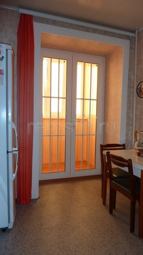 Дизайн дверей на балкон..