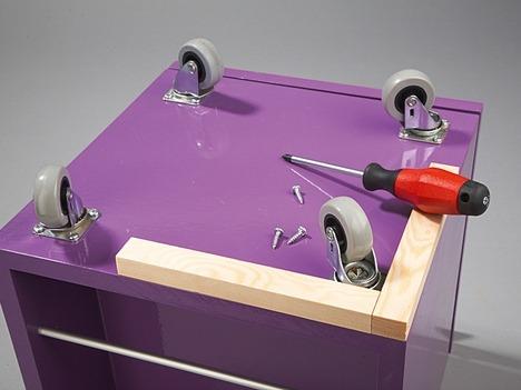 Делаем шкафчик для ванной конаты