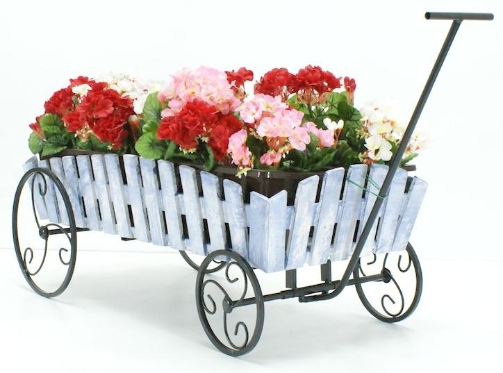 Мобильные передвижные клумбы и контейнеры для цветов