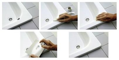 Ремонт скола ванны своими руками