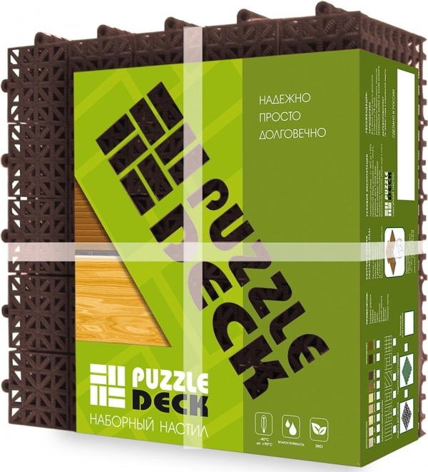 Модульное пластиковое покрытие Puzzle Deck