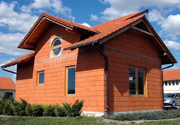 Дом из керамических блоков - поризованной керамики