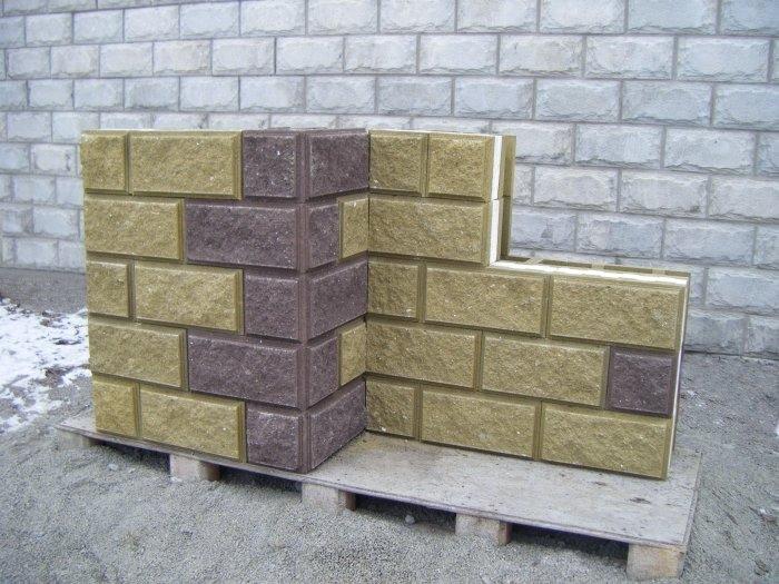 Стеновые термоблоки