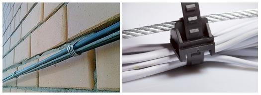 Струнная или тросовая электропроводка