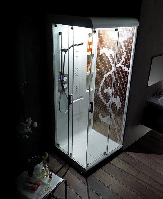 Гидромассажная душевая кабина Тоnах Supreme Wellness System компании Ideal Standard