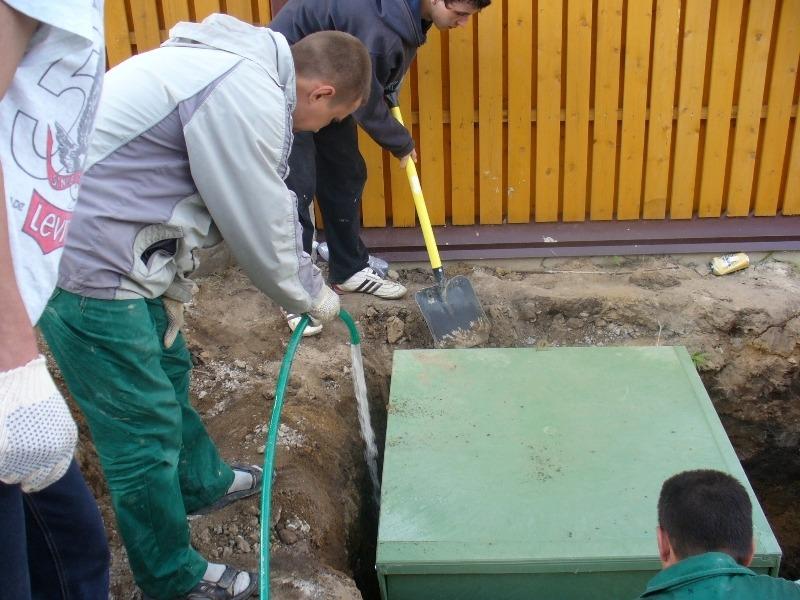 Очистка сточных вод для частного дома