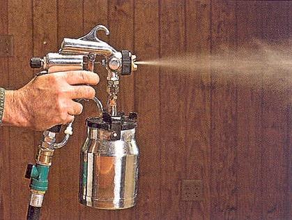Ширина факела распылителя низкого давления