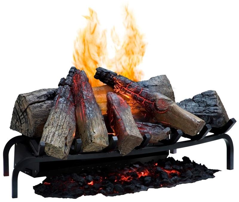 Реалистичность пламени и дров электрокамина