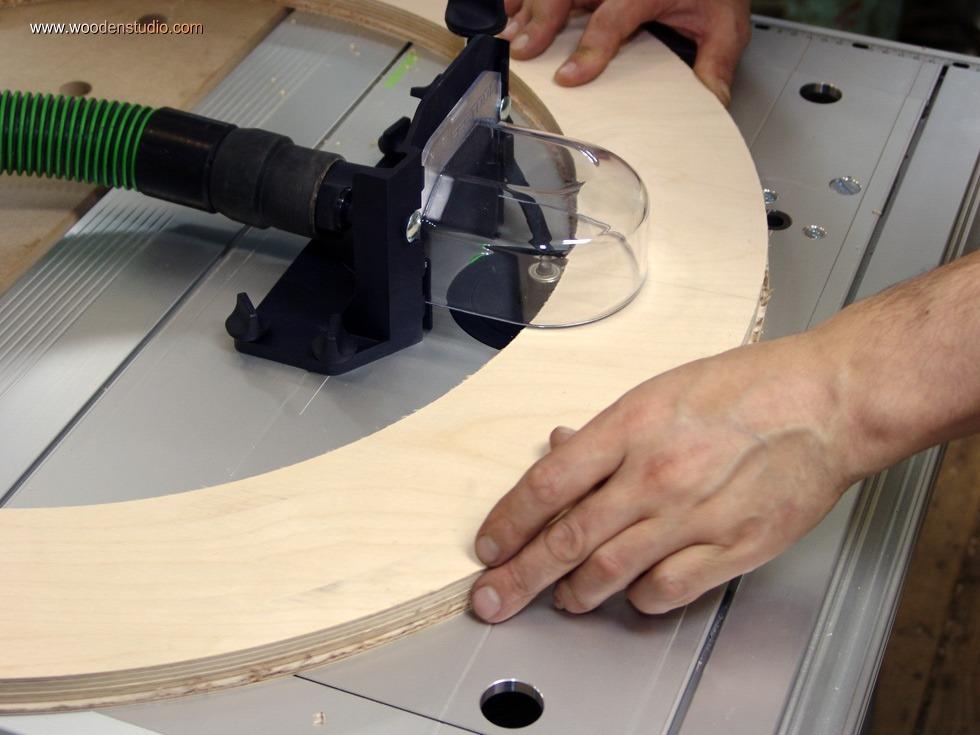 Изготовление деревянной межкомнатной арки