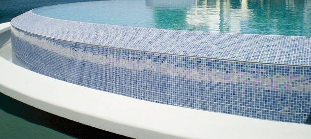 Мозаика для отделки бассейна