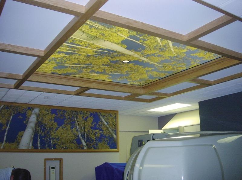 Натяжной потолок Newmat