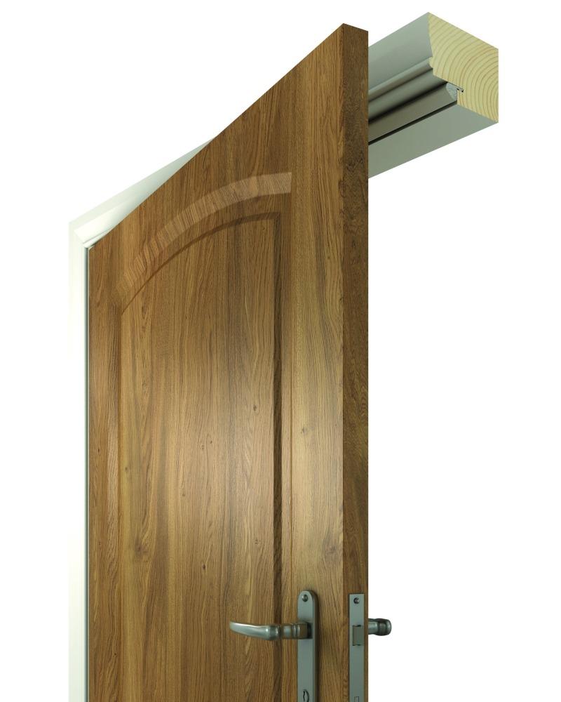 Дверь с уплотнителем Schlegel