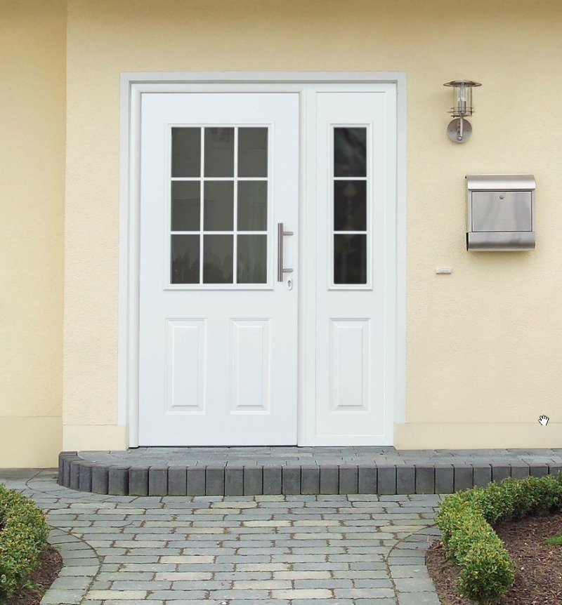 Алюминиевые входные двери Hormann