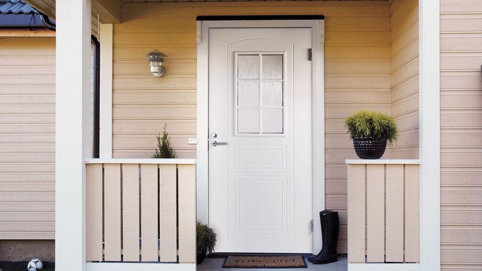 Входная деревянная дверь JELD-Wen SUOMI Oy
