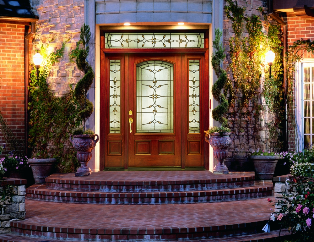 Входная дверь из дерева Therma-Tru