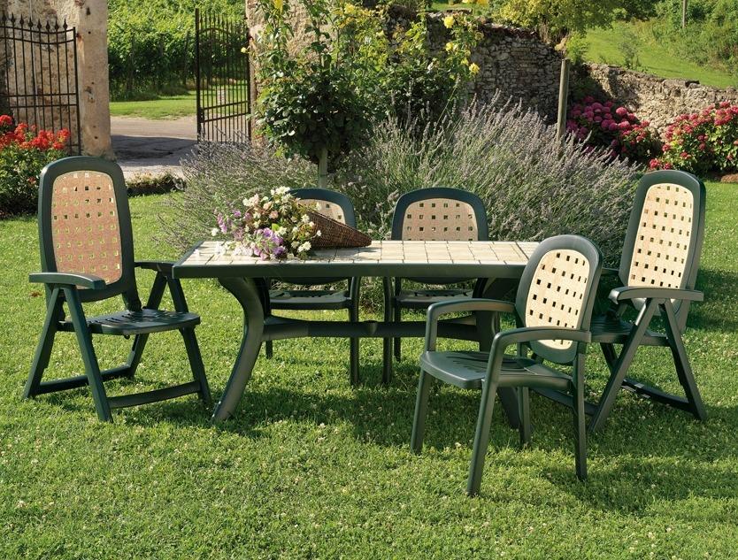 Комплект пластиковой садовой мебели от Nardi, Superga