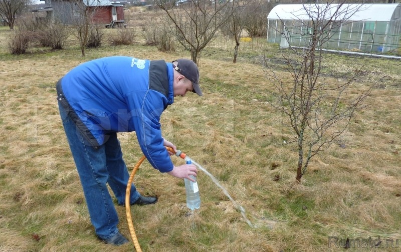 Взятие пробы воды на анализ