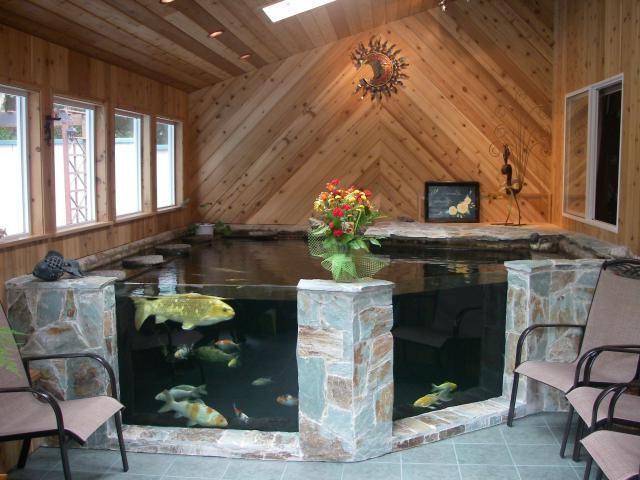 Как сделать пруд в дом