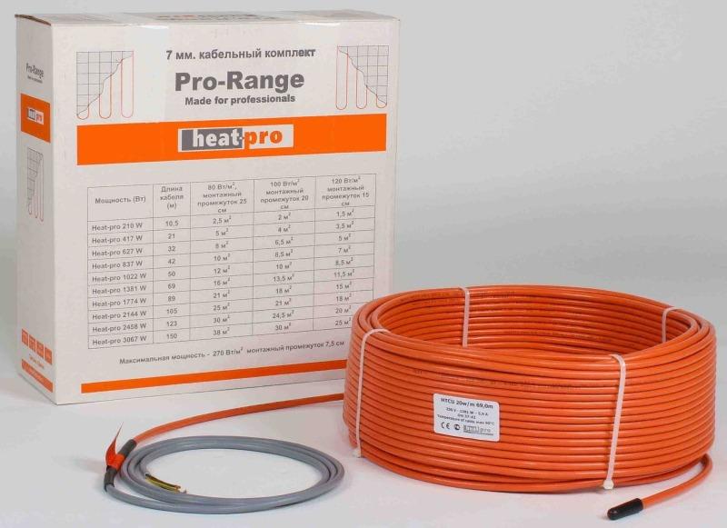 Нагревательный кабель Pro-Range