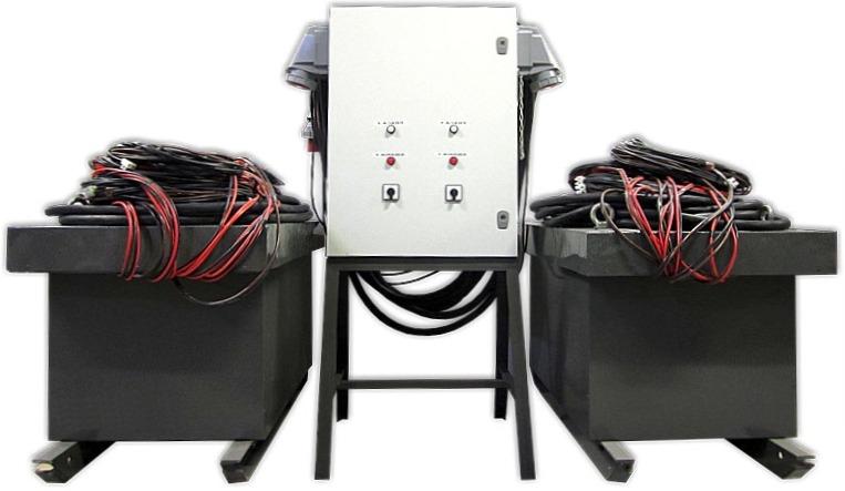 Комплект оборудования для электронагрева бетона