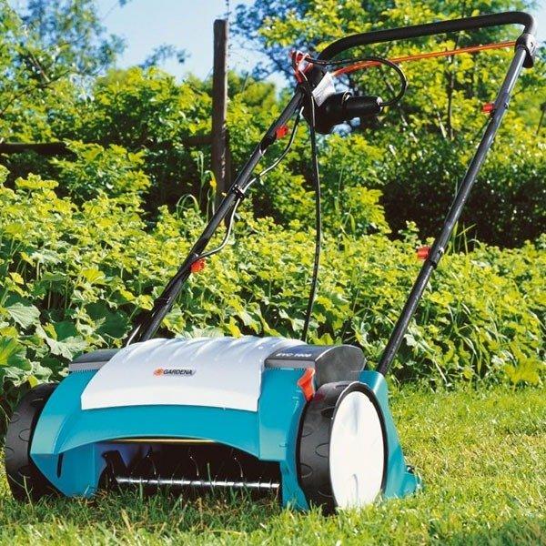 Аэратор газонный электрический Gardena EVC 1000