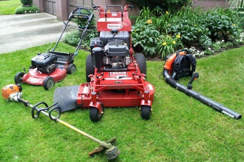 Техника и инструменты для идеального газона