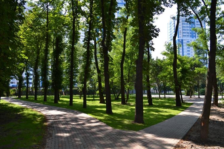 Благоустроенные скверы и парки, наконец то, становятся нормой городского ландшафта