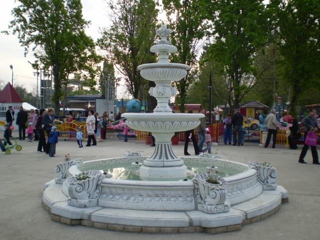 Фонтан на городской площади