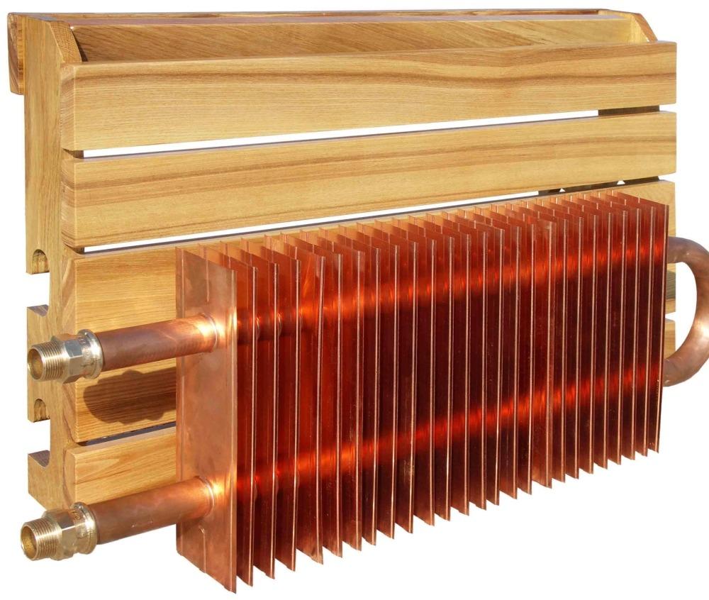 Медный радиатор отопления Classic Style