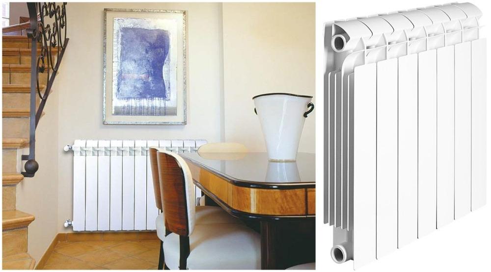 Биметаллический радиатор отопления серии Style Plus компании Global