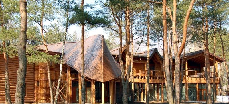 Необычные деревянные дома