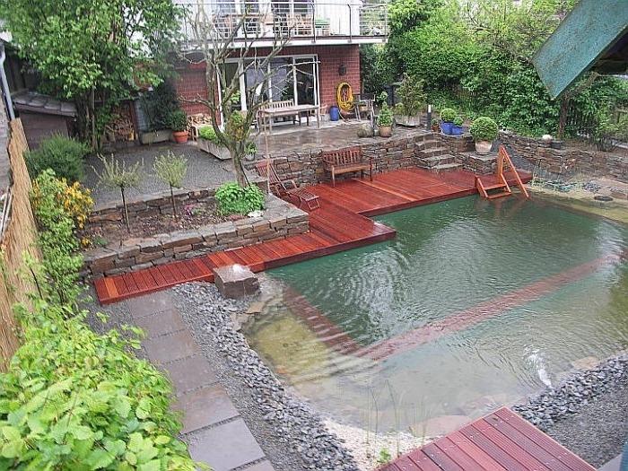 Строительство плавательного (купального) пруда
