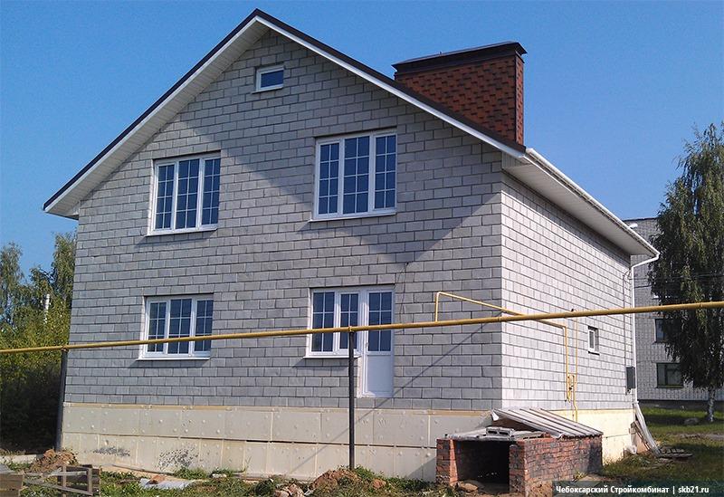 Когда стены дома возведены, остается только покрасить их. Внешний вид дома ограничивается лишь вашей фантазией.