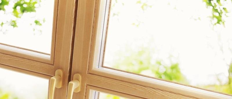 Деревянные окна становятся трендом