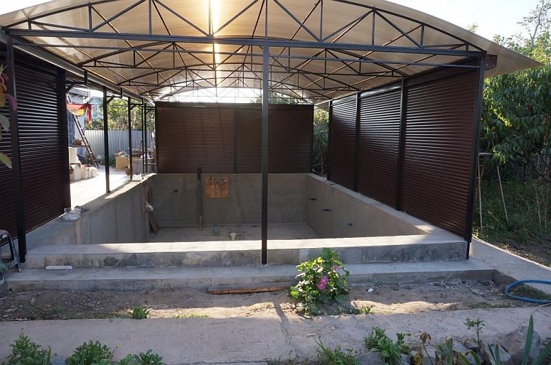 Строительство частного бассейна