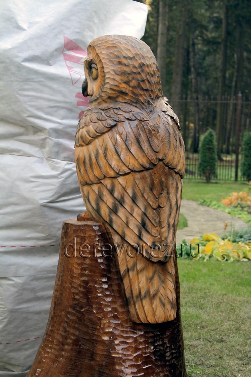Сова своими руками из дерева