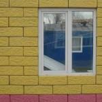 Отделка дома фасадными блоками