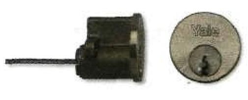 Цилиндровый накладной (коробчатый) замок.