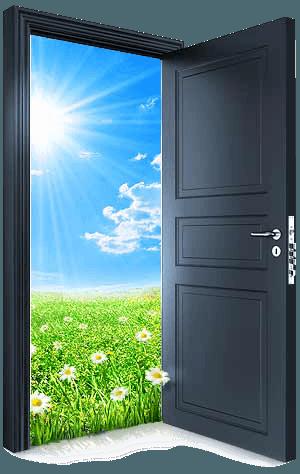 Перевешивание двери