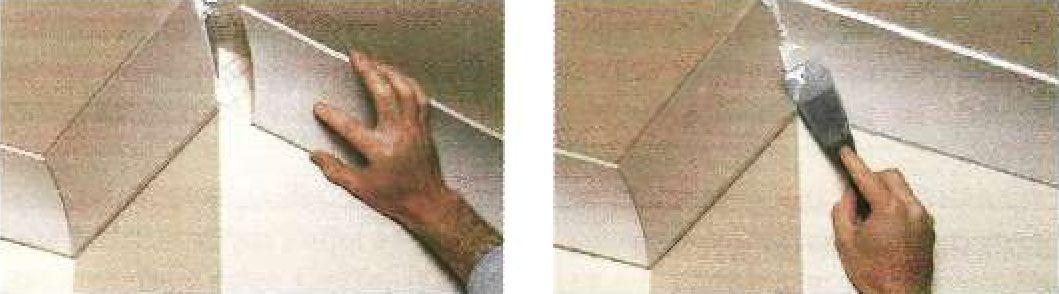 Установка гипсового фриза