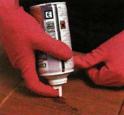 Жидкость для борьбы с личинками древоточца