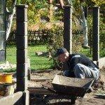 Ремонт заборных столбов и калиток