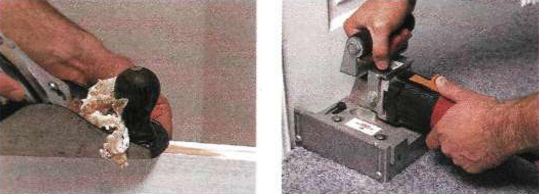 Техника подгонки двери