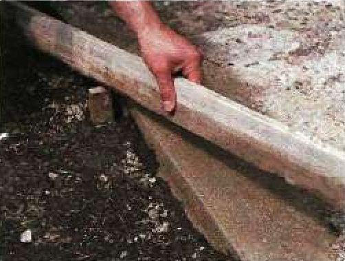 Ремонт бетонных дорожек