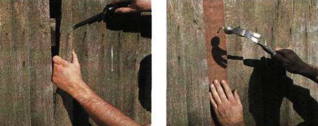 Ремонт деревянных заборов