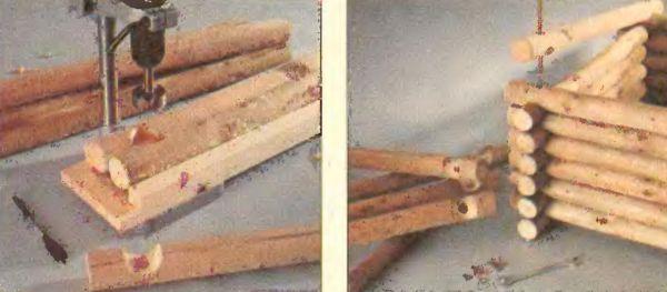 Перьевое сверло и сверло Форстнера показывают высокое качество обработки лишь при работе дрелью на стойке упора.